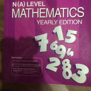 N(A) Level Mathematics Yearly Edition 2005- 2014