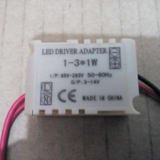 Led Driver For 1-3 x 1w Led Downlight