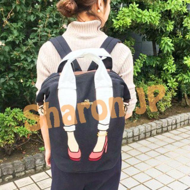 《☀Ⓢⓗⓐⓡⓞⓝ💕日本🇯🇵代購🎀  mis zapatos新款2 way高跟鞋後背大包✌✌》