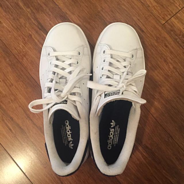 Adidas Stan Smith Sneakers - Navy Sz 38/ 6.5