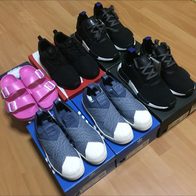 new arrival 72090 154b8 Adidas Superstar Slip On / Nike Roshe One / Adidas NMD Core ...