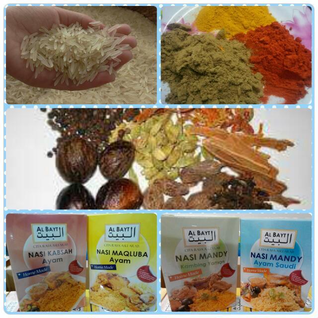 Al Bayt Homemade Nasi Arab Food Drinks Instant Food On