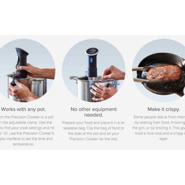 【ANOVA】現貨 Precision cooker 真空 低溫烹調機 恆煮 Sous vide 舒肥法 米其林 五星級