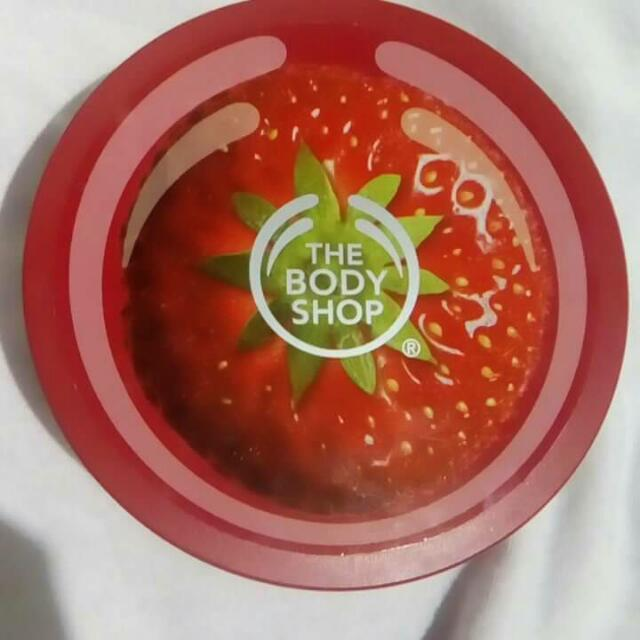 Authentic The Body Shop Body Butter(strawberry)