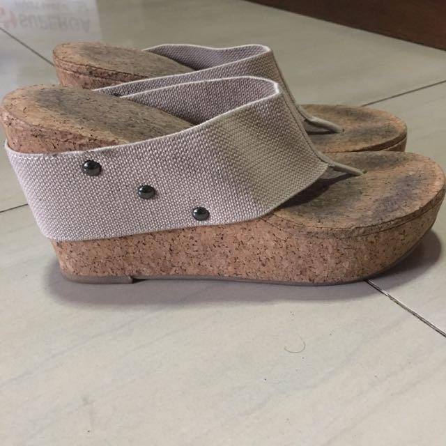 Baldi Wedge Sandals Size 35-36