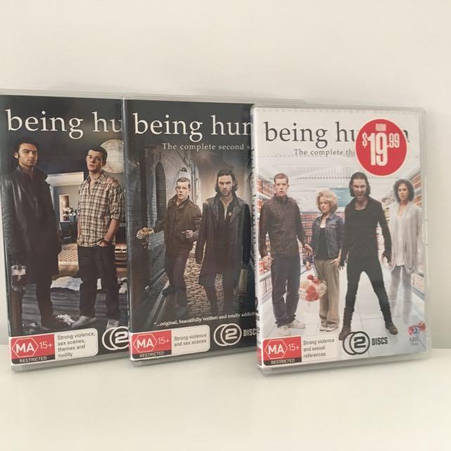 Being Human Season 1-3 DVDs