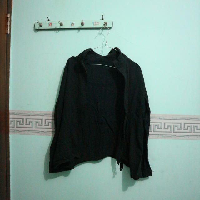 Black Jacket Sweater