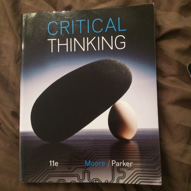 critical thinking philosophy textbook