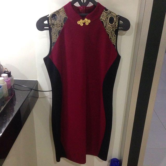 Dress Modern Cheongsam