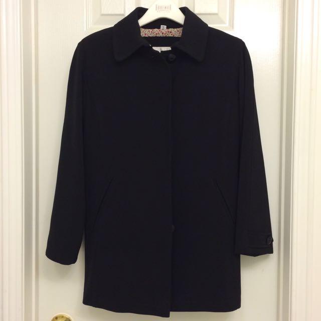 Fall Black Coat