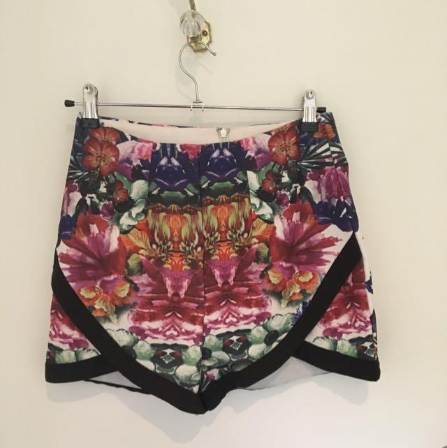 Floral Shorts Size 8 #under20