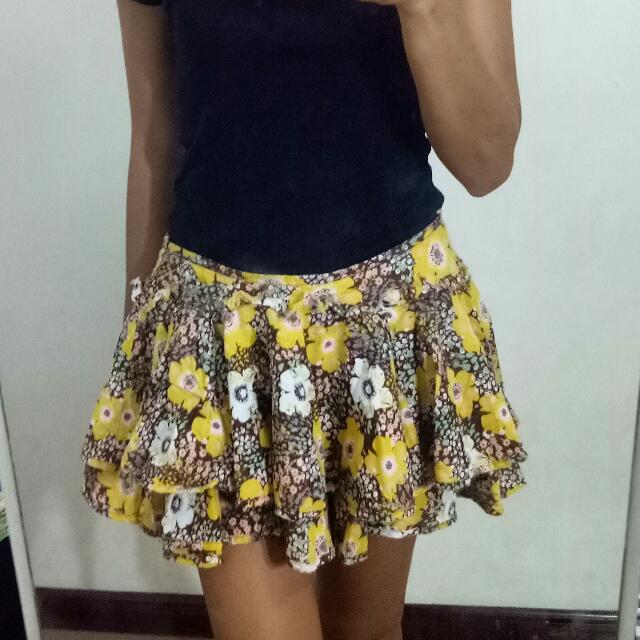 Floral Skirt SMALL