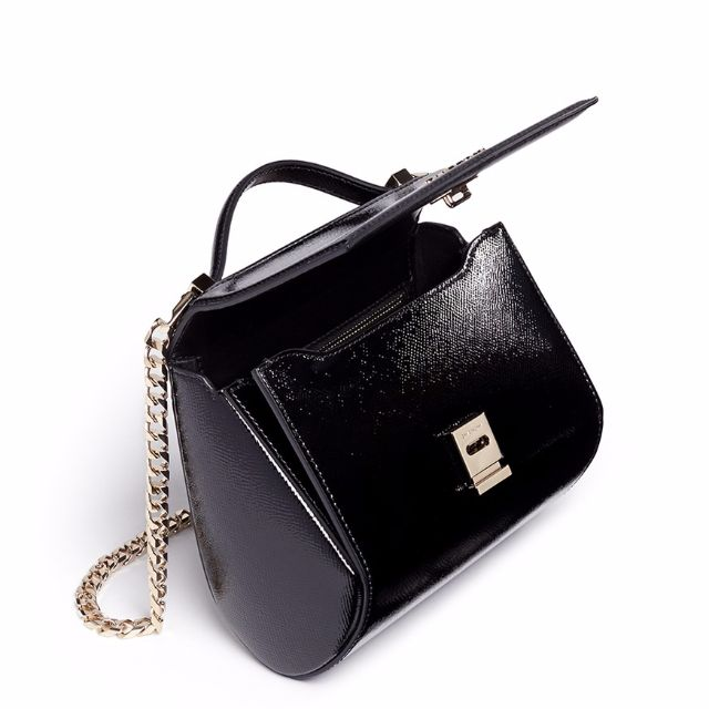 161eb513726a GIVENCHY  PANDORA BOX  MINI SAFFIANO PATENT LEATHER CHAIN BAG - Preorder