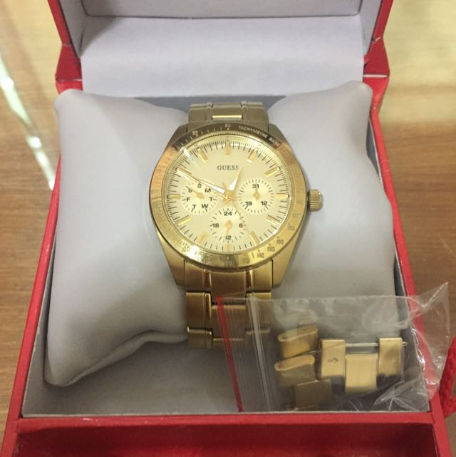 Guess Gold Watches [Reserved]