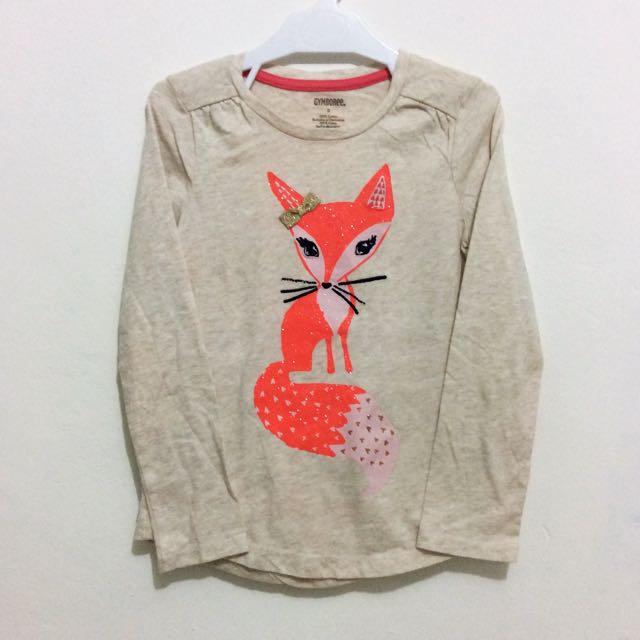 Gymboree Longsleeve Fox