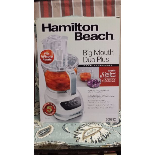 Hamilton Beach Duo Plus Food Processor