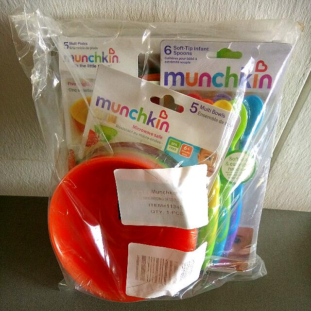 Infant And Toddler Feeding Set By Munchkin USA