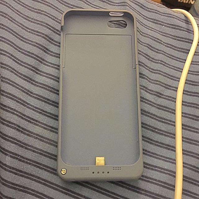 iPhone 5/5s/5c Rechargeable Case