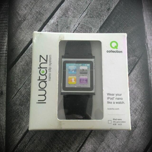 Ipod Nano Strap Black
