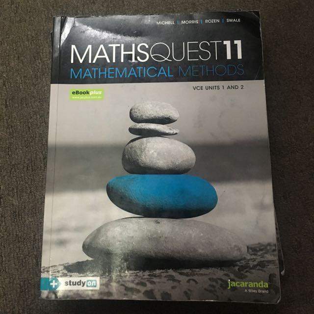Jacaranda MathsQuest 11 Methods