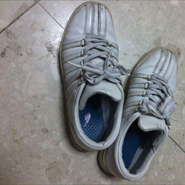 KISWISS全白鞋鞋