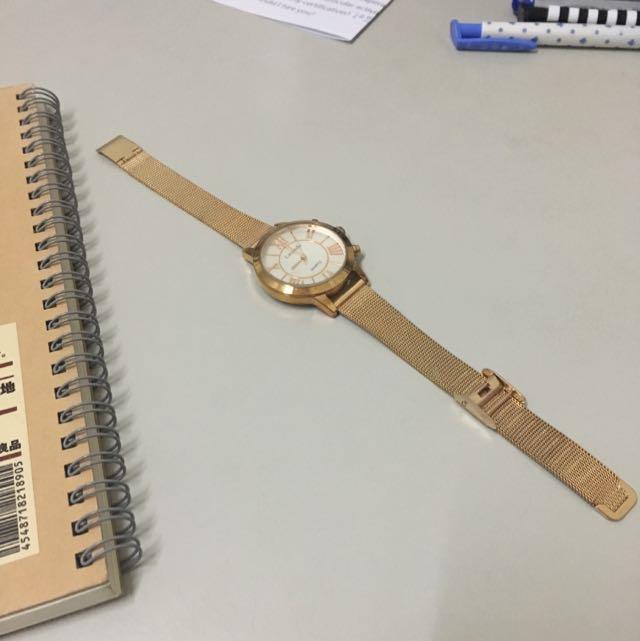 Lavenda玫瑰金手錶