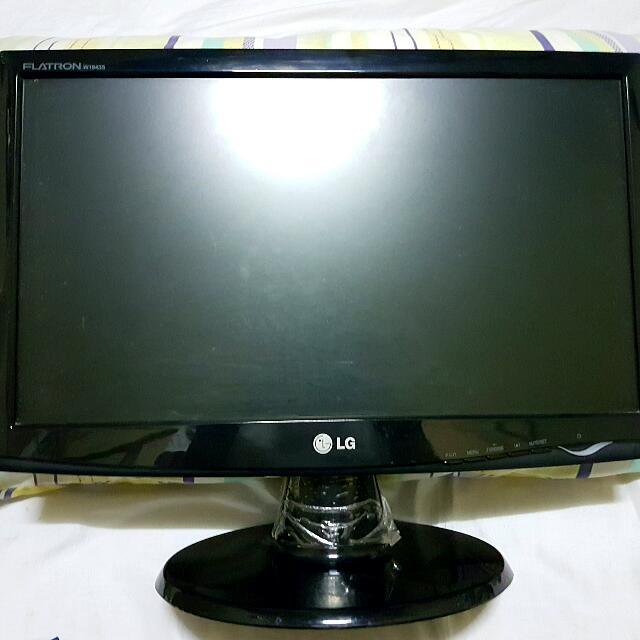 "LG flatron 19"" LCD Monitor"