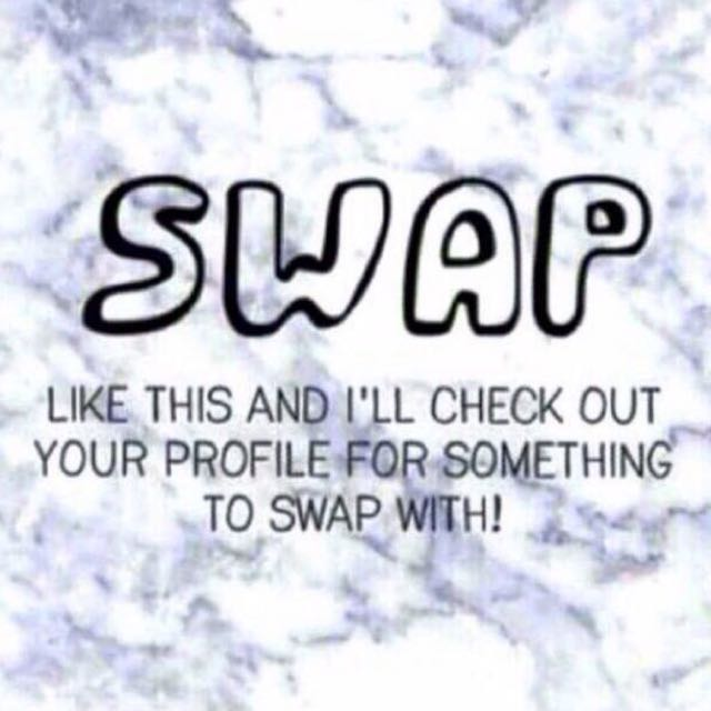 Like For Swap!