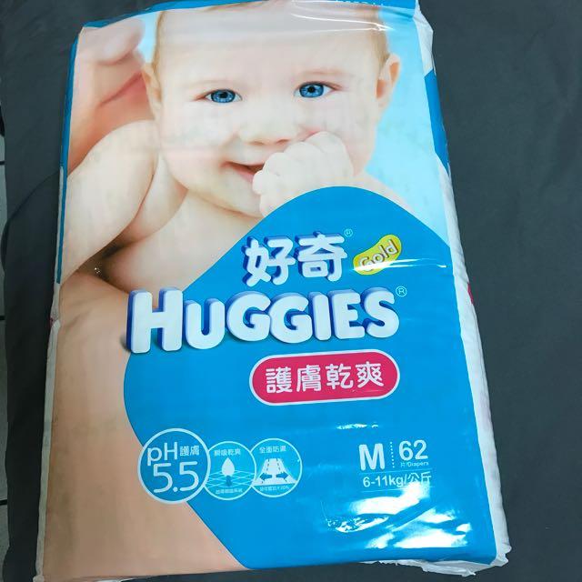 好奇寶寶尿布M《3包》保留中