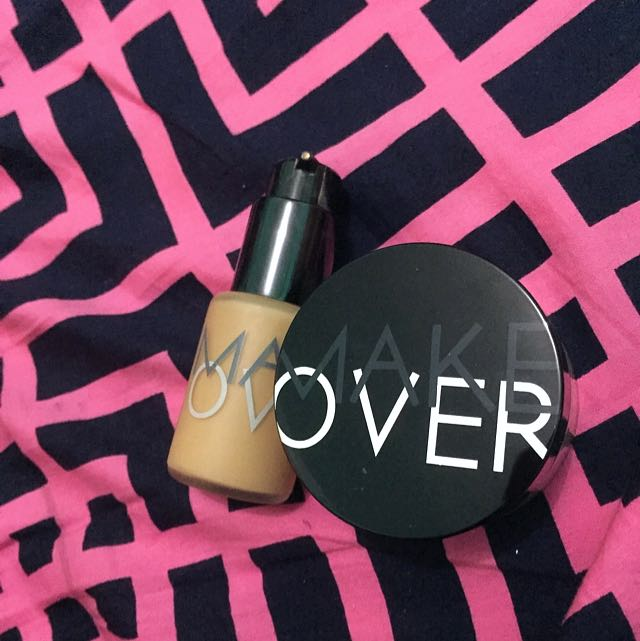 MAKE OVER Loose Powder 👉🏻 Foundationnya SOLD