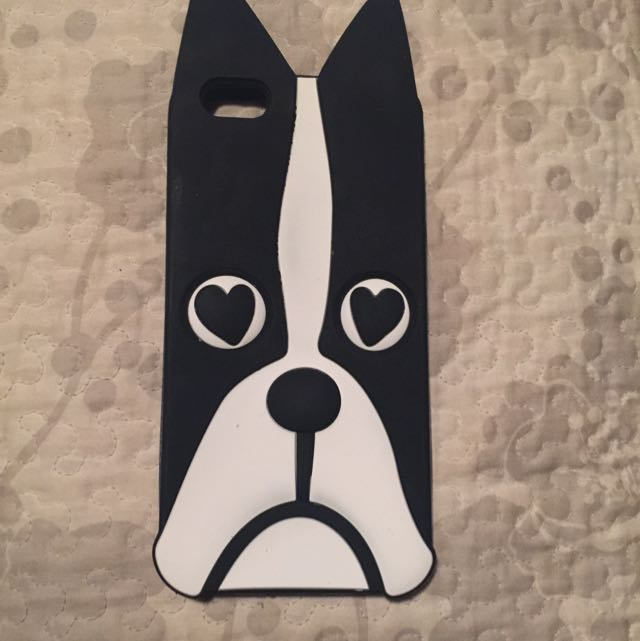 Marc Jacobs iPhone 6 Plus French Bulldog Case