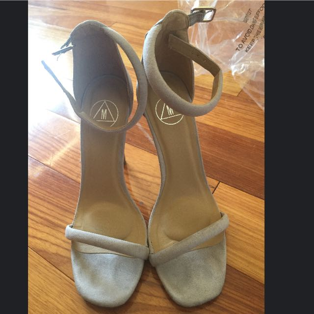 Misguided Strapy Heels