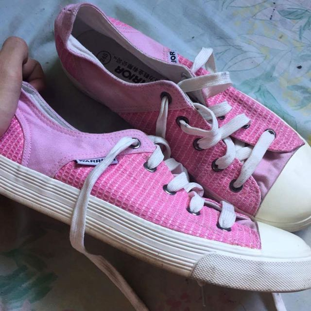 Pink Rubber Shoes (bought in China) size 9