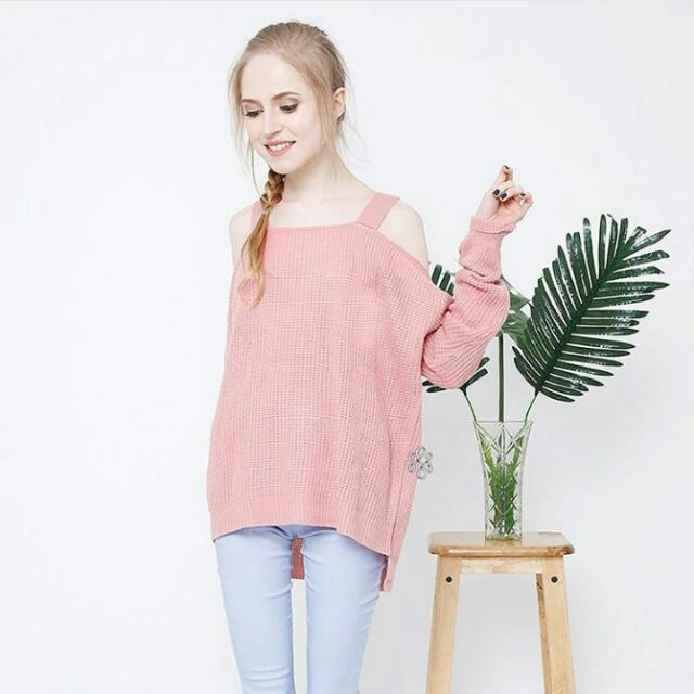 Sabrina Off Knit Shoulder