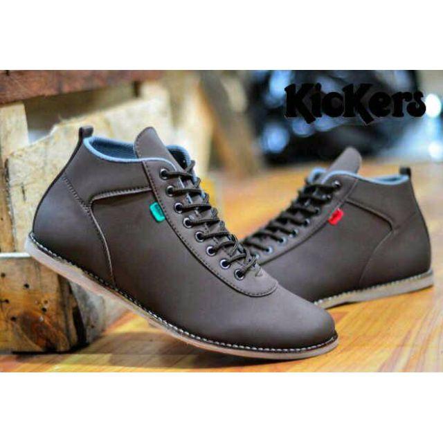 Kicker Sepatu Sepatu Kulit Formal Pria Mens Leather Formal