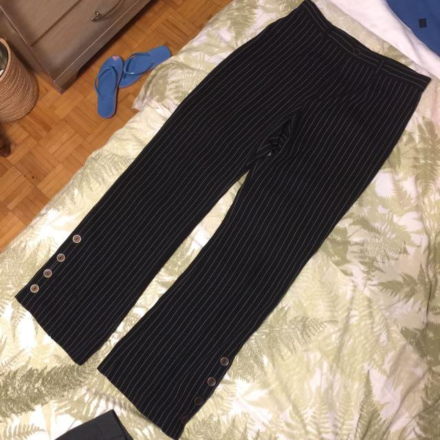 stripes slacks