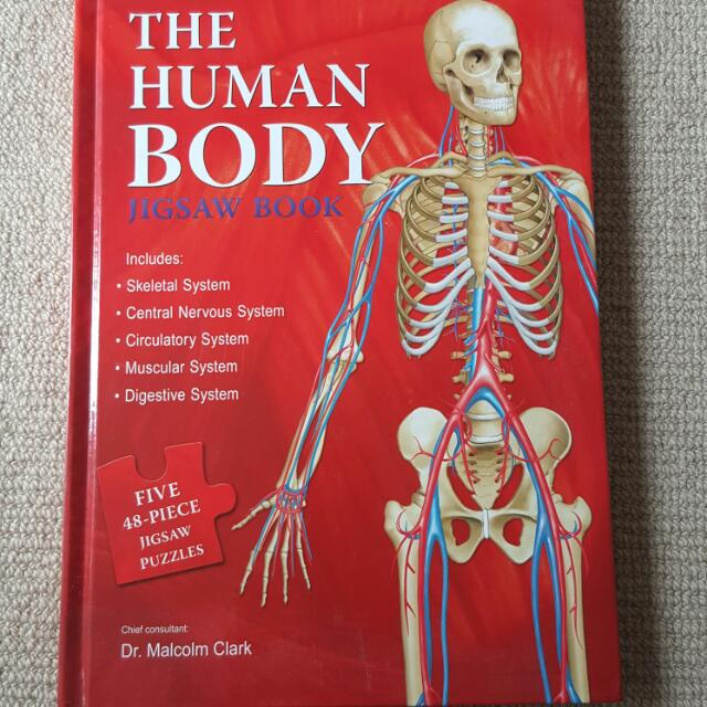 The Human Body Jigsaw Puzzle Book