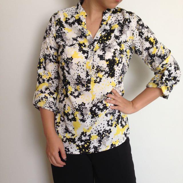 TheExecutive Flower Shirt