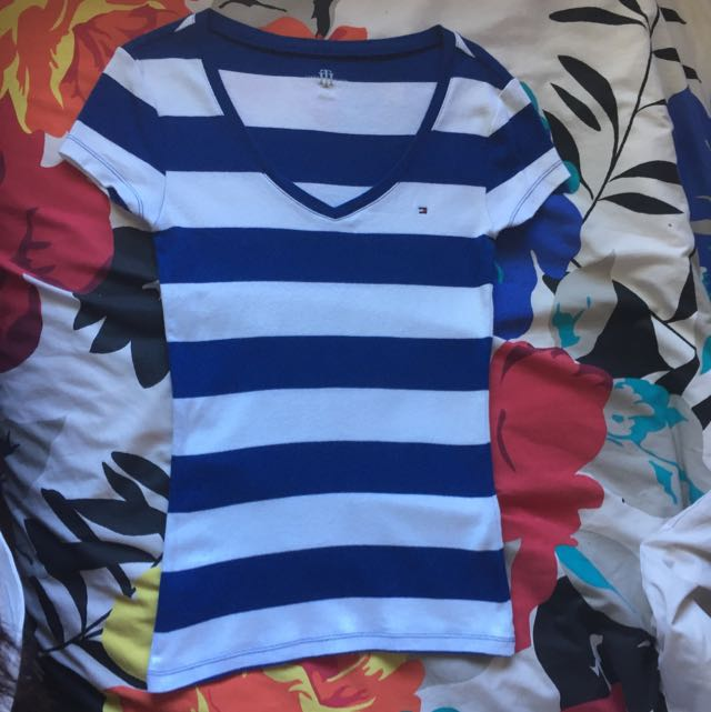 Tommy hilfiger Size XS (Navy And White Stripe)