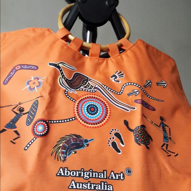 Tote Bag Australia Orange