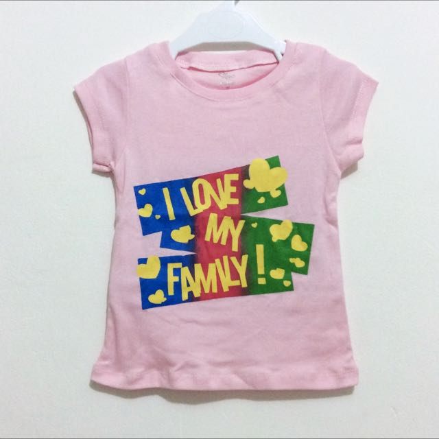 T-shirt PLACE I Love My Family