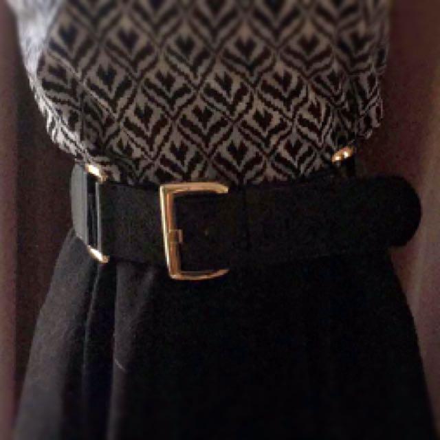 Waist Belt With Buckle