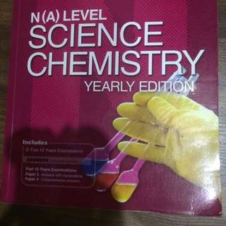 N(A) Level Science Chemistry Yearly Edition 2005-2014