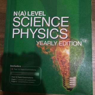 N(A) Level Science Physics Yearly Edition 2005-2014