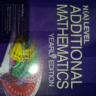 BN N(A) Level Additional Mathematics Yearly Edition 2005-2014