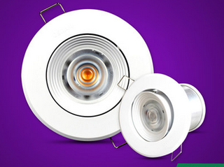 OSRAM 2W Downlight (3000K Yellow), Perfect for spotlight