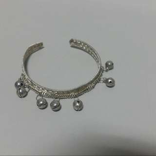 印度銀飾手環