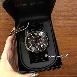 全館95折🌟⌚️美國代購男錶 EMPORIO ARMANI AR2453