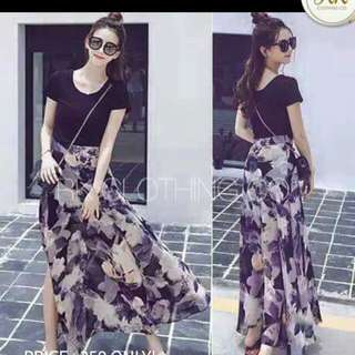 Fashion Maxi Dress BLACK