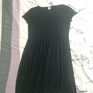 Old Navy Black Tshirt Dress